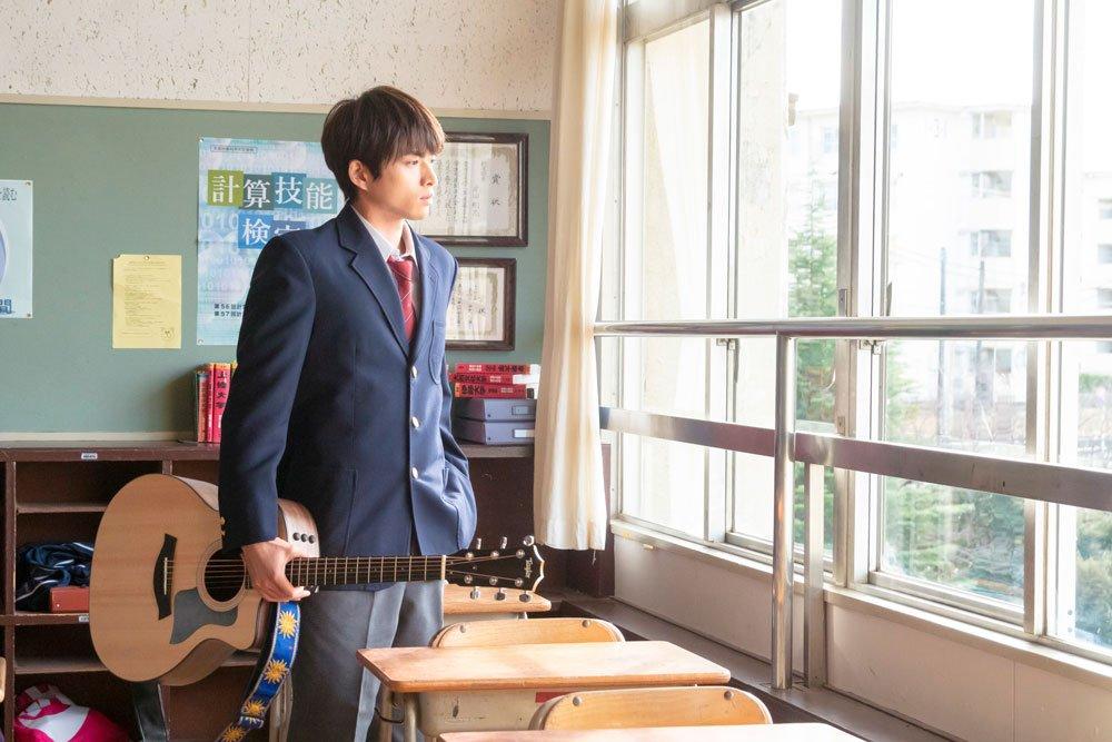 shirasu jin 白洲迅 guitar jdrama drama i don't love you yet high school
