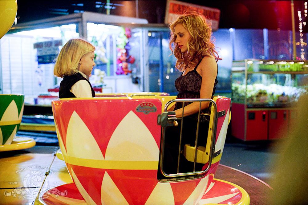 Uptown Girls Film review teacups scene Molly Gunn Ray Schleine Brittany Murphy Dakota Fanning Coney Island dealing with grief